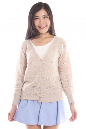 Sparkle Knit Cardigan
