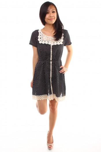 Polkadot Shirt Dress