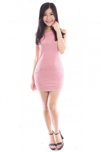 Checkered Shift Dress