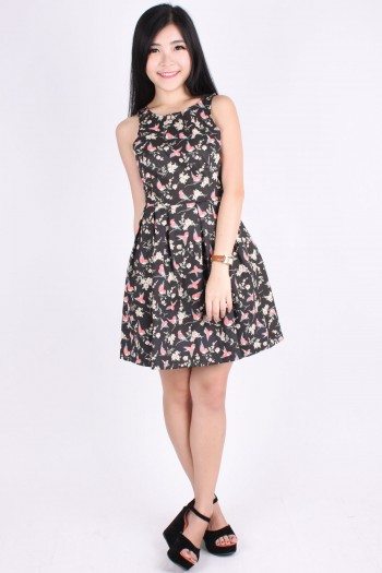 TLJ Cut-In Sparrow Skater Dress