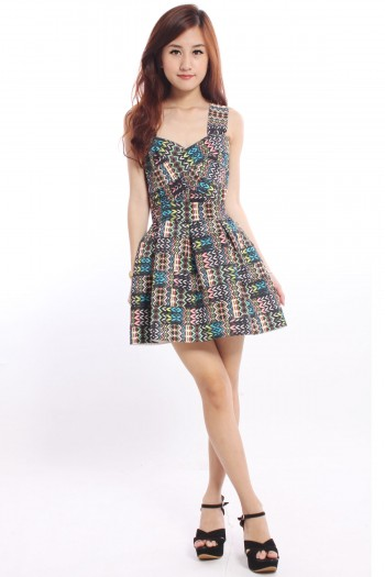 Tribal Bandage Dress