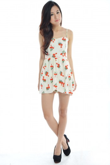 Chiffon Floral Dress Romper