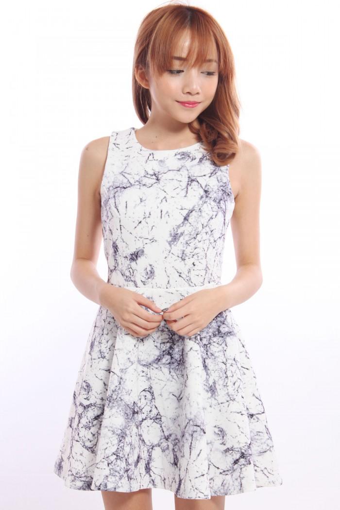 Marbled Dresses