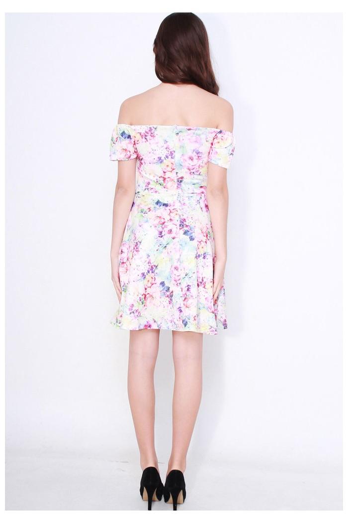 3967a72cf0  1829-7714-thickbox floral-off-shoulder-skater-dress