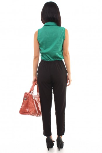 High Waist Pants with Sash