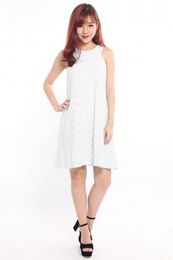 *Premium* Crochet Trapeze Dress