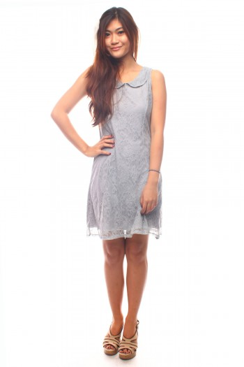 Peterpan Lace Shift Dress