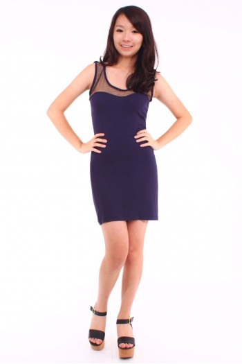 Sweetheart Neckline Bodycon Dress