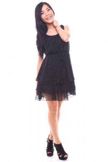 Chiffon Tier Dress