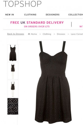 Topshop Inspired Lace Dress