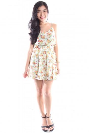 2-Pc Floral Print Dress