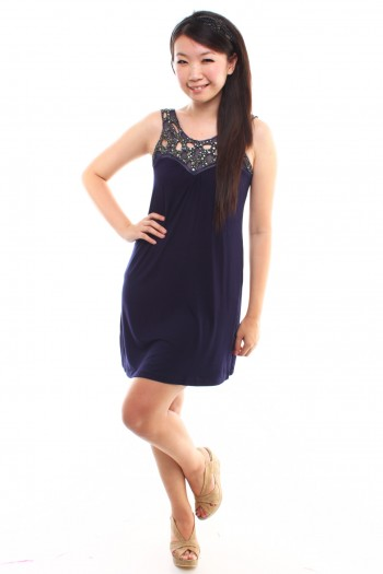 Bejeweled Dress