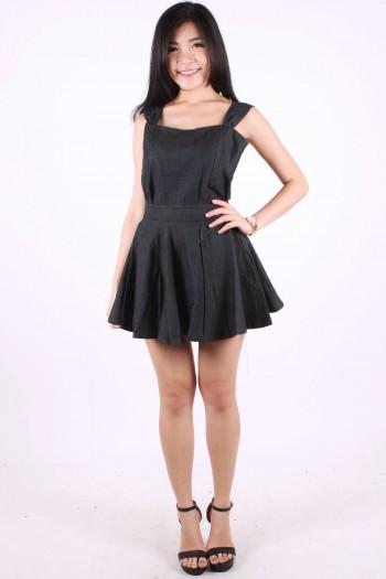 2-Piece Denim Dress
