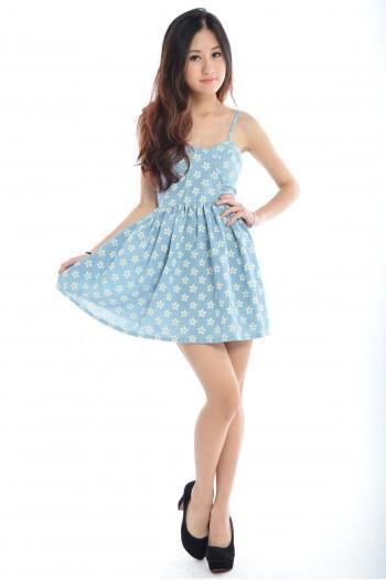 Daisy Bustier Dress