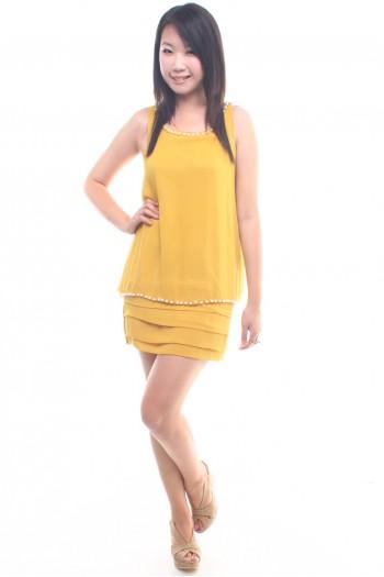 Pearl Tier Dress