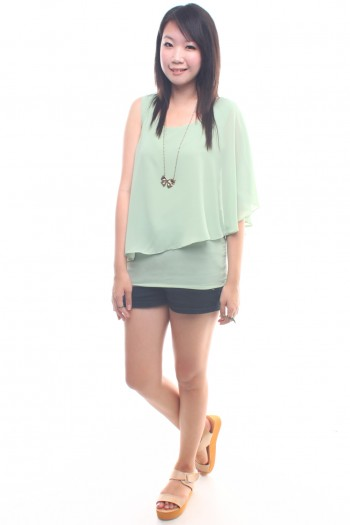 Asymmetric Layered Top