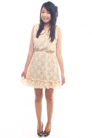Peter Pan Crochet Dress