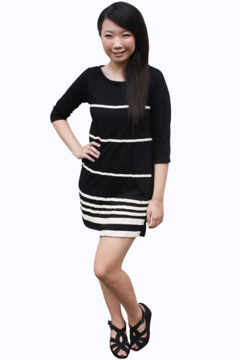Nautical Striped Dres