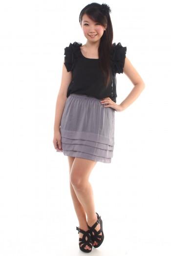 Chiffon Tier Skirt