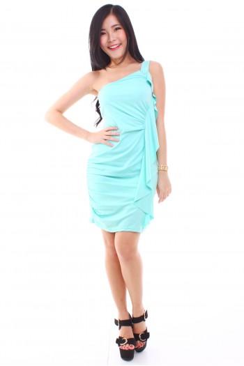 Drape Toga Dress